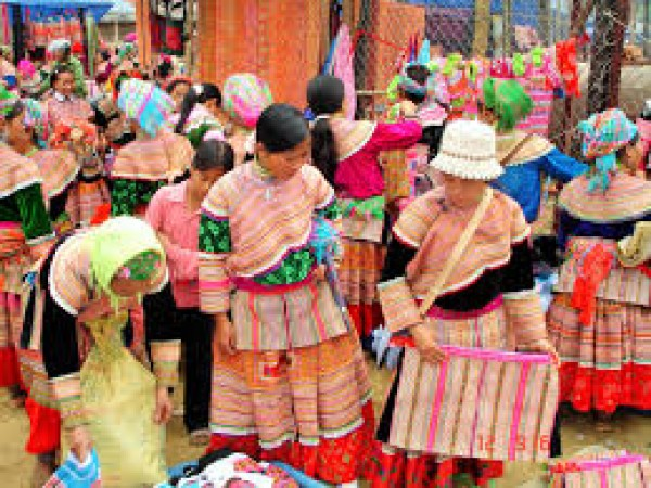 Bac Ha Market, feast for the eyes!