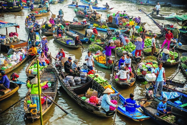 Get to know Cai Rang Floating Market