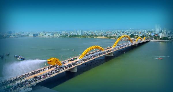 DaNang, a seaside & riverside city