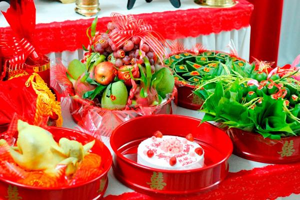 Vietnamese wedding ceremony!