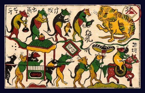 A glance at Vietnamese folk painting!