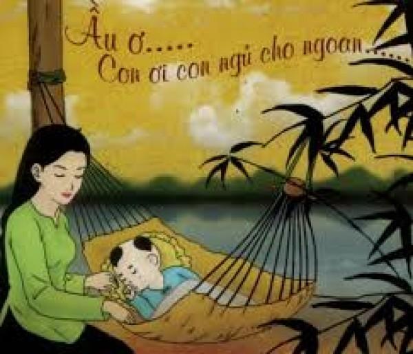 Lullaby singing