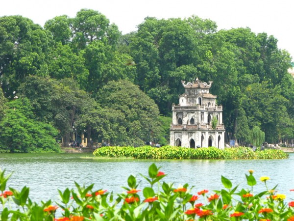 Ho Hoan Kiem (Ho Guom) - Lake of the Restored Sword