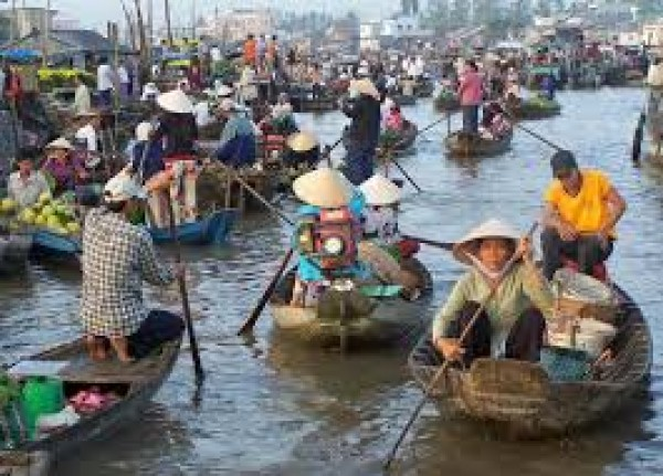The Mekong Delta in brief