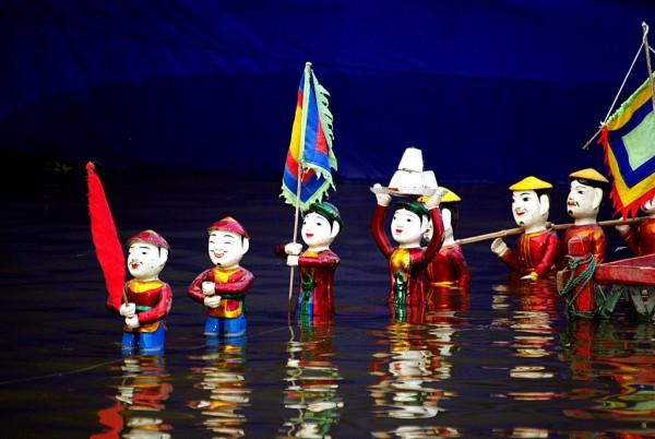 Vietnamese Water Puppet (Mua Roi Nuoc)