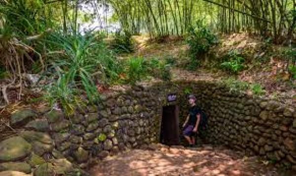 Vinh Moc Tunnel – a famous Vietnam's historical relic